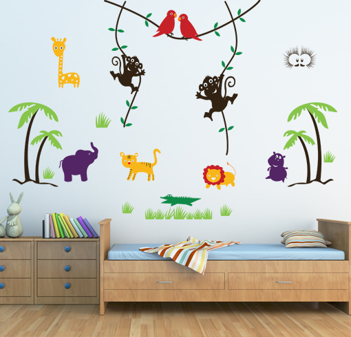 Wall Art Stickers Qatar : Kids wall stickers decals by cravings